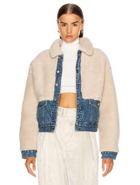 Miya Faux Sherpa Jacket
