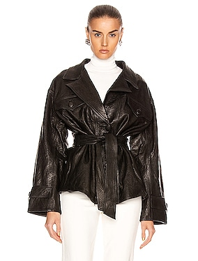 Moises Leather Jacket