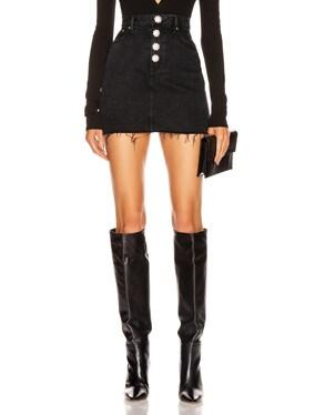 Reese High Rise Straight Mini Skirt