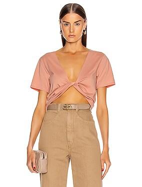 Sabine Twist Front Tee Shirt