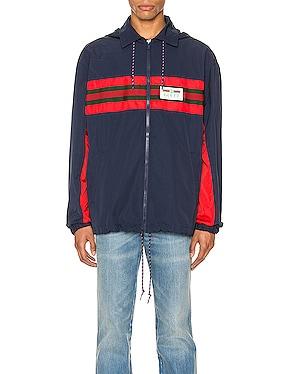 Nylon Jacket with Web & Logo