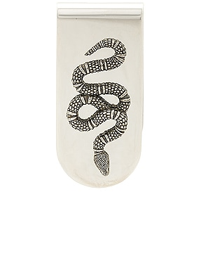 Snake Motif Money Clip