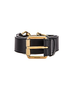 Horsebit Leather Belt