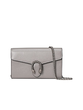 Leather Chain Shoulder Bag