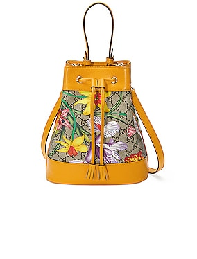 Ophidia Supreme GG Flora Shoulder Bag