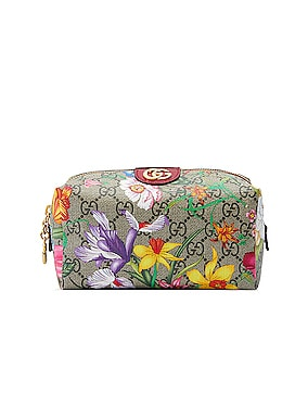 Ophidia Supreme GG Flora Cosmetic Case
