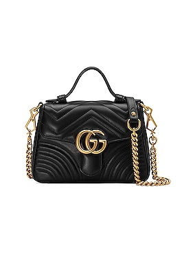 GG Marmont 2.0 Top Handle Bag