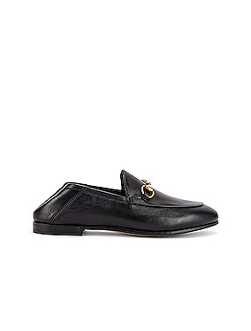 Leather Horsebit Loafers