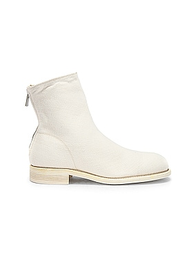 Back Zip Boot