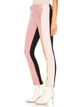 Side Stripe Two Tone Trousers