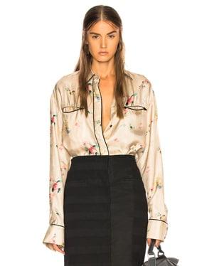 Biais Detail Shirt