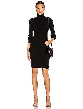 Compact Wool Dress