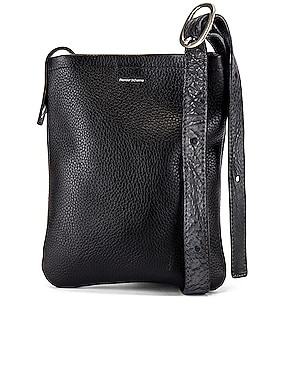Leather One Side Belt Bag Small