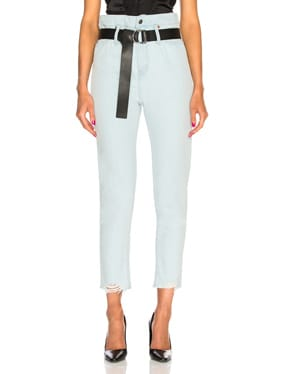 Aven High Rise Belted Straight