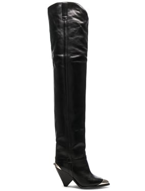 Leather Lafsten Boots