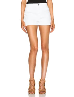 High Rise Tailored Shorts