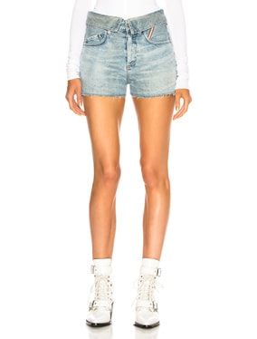 Flip Jean Shorts