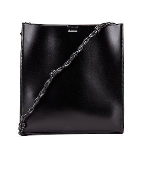 Medium Tangle Leather Crossbody Bag