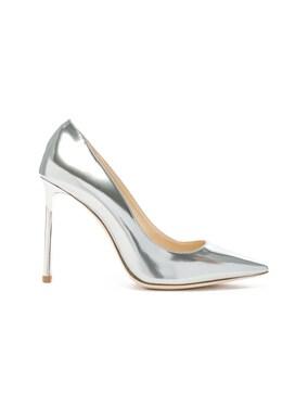 Romy 100 Mirror Leather Heels