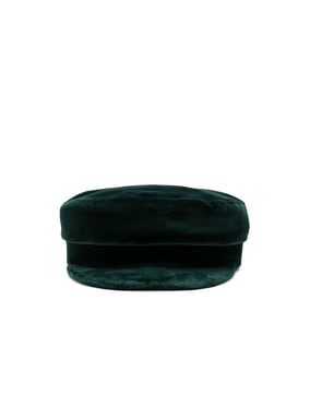 Mattie Fisherman Velvet Cap