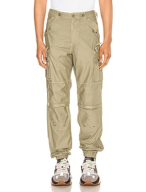 Back Sateen Canopy Cargos