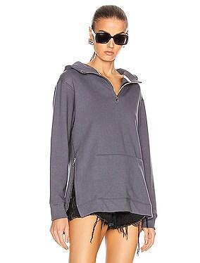Zip Hooded Villain Sweatshirt