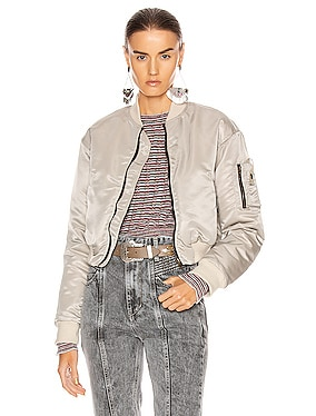 Hunter Cropped Bomber