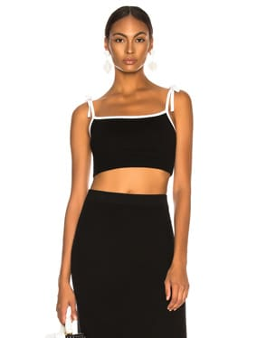 Bodycon Crop Camisole