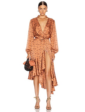 Spiritual Relations Wrap Dress