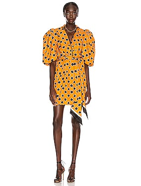 Eccentric Words Mini Dress