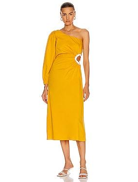 Refulgence of Stars Midi Dress