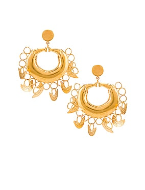 Albarcoque Earrings