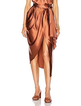 Magical Feeling Midi Skirt