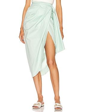 Mint Eco Warrior Wrap Skirt