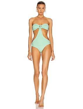 Mint Goddess One Piece Swimsuit