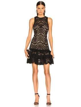 for FWRD Sleeveless Ruffle Lace Dress