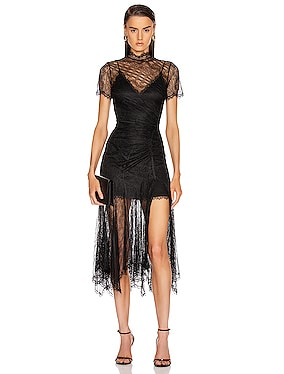 Sateen Lingerie Lace Dress