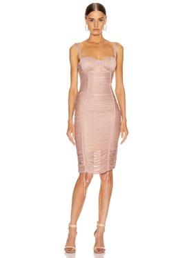 Shimmer Balconette Dress