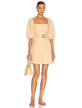 Emery Belted Mini Dress