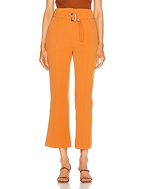 Florence Crepe Belted Pant