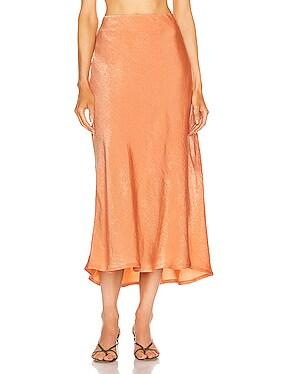 Luna Satin Skirt