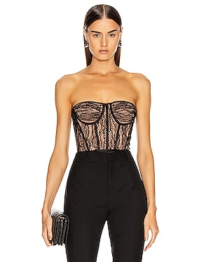 Lingerie Bustier Bodysuit