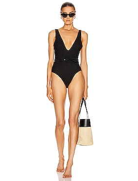 Seaton Lace Up Swimsuit