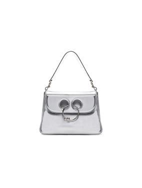 Medium Pierce Metallic Bag