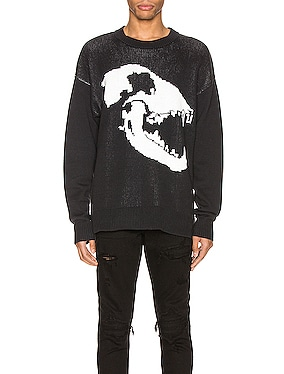 Canine Skull Sweater