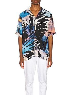 Palms Resort Print Shirt