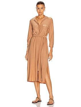 Rivi Long Shirt Dress