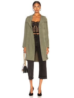 Elise Belted Trench
