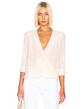 Perry Fabric Blocked Blouse