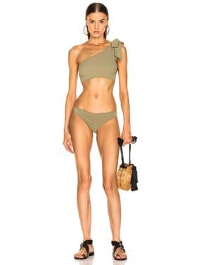 Arden Ruched Tie Bikini